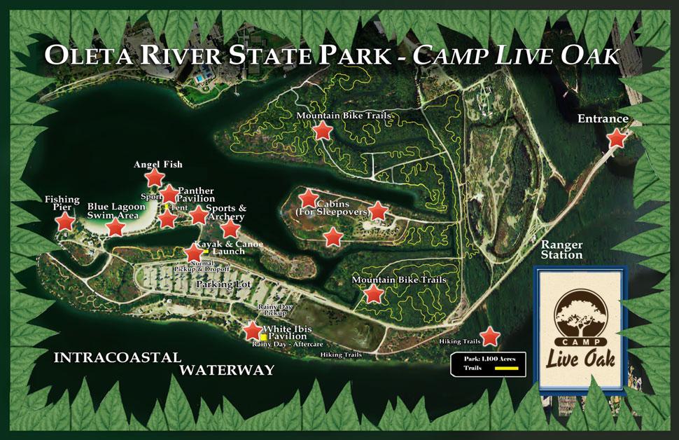 Oleta River State Park Camp Live Oak