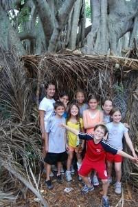 Camp Live Oak - Forts