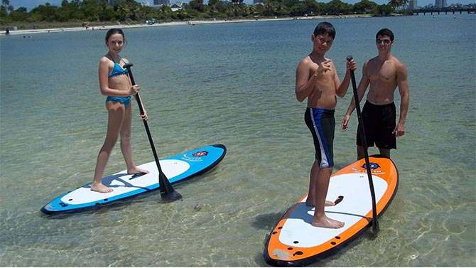 6 Safety Tips For Paddle Boarding With Kids In Fort Lauderdale