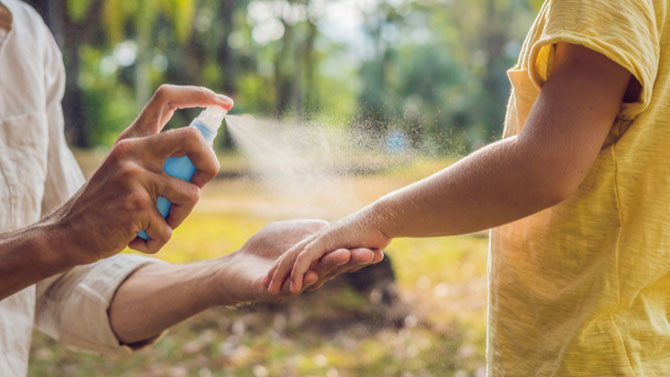 Avoiding Insect Bites and Stings This Summer