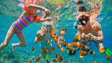 Snorkeling with the Family in Florida For Spring