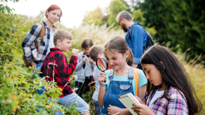 Protecting Your Kids from Nature Deficit Disorder