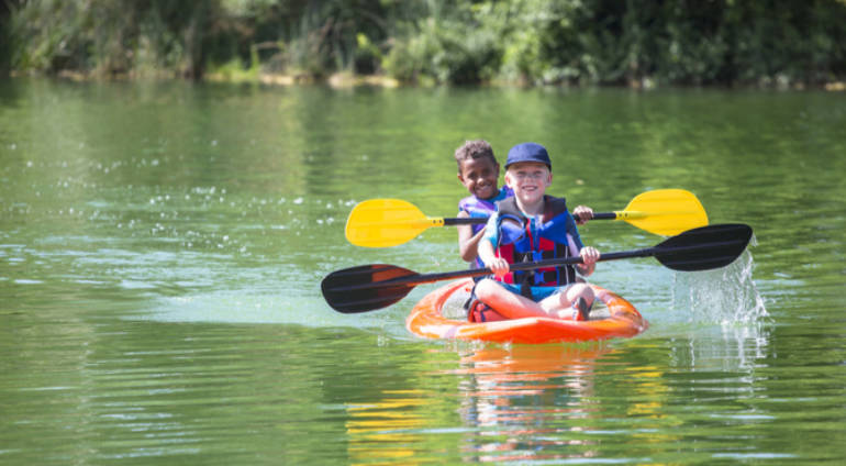 Spring Water Fun for Families – Canoeing and Kayaking