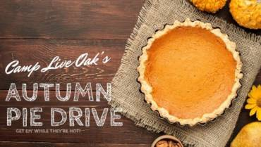 Pumpkin and Apple Pie Fall Fundraiser