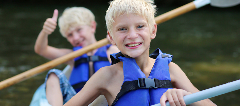 From Fishing to Kayaking, Get Kids Comfortable with Water